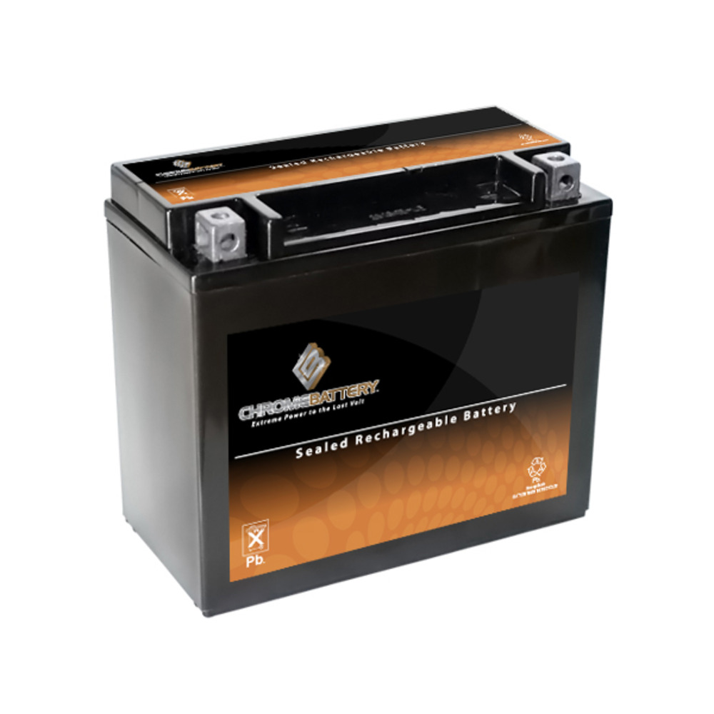 Chrome Battery YTX20L-BS ATV Power Sports Battery for BRP (Can-Am) Outlander 800 EFI, Renegade 800CC 06-'09 at Sears.com