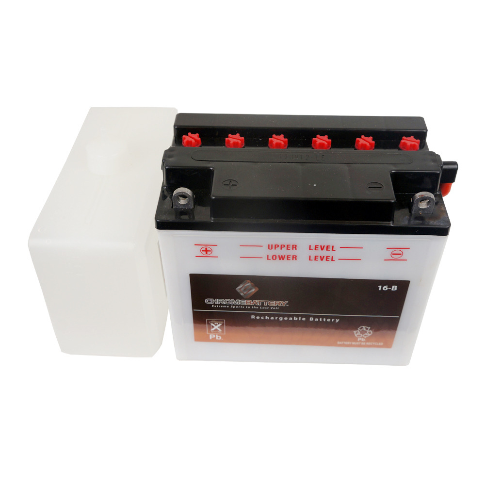 Chrome Battery YB16-B Convential Motorcycle Power Sports Battery for 1993 Harley-Davidson Sportster XLH1200 at Sears.com