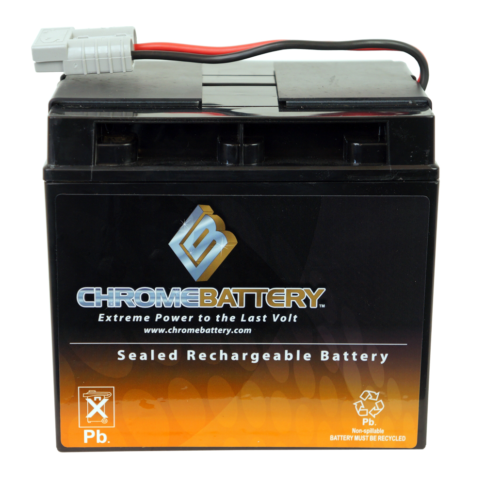 Chrome Battery Rbc7 Ups Complete Replacement Battery Kit ...