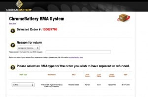 ChromeBattery RMA Submission Portal - Specifics about your RMA 2014-12-05 15-54-50