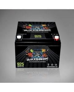 12V 26AH (925 Watts) High Performance Car Stereo Battery - Black Label