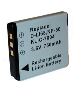 Digital Camera Battery replacement Universal 3.7V 2.41W