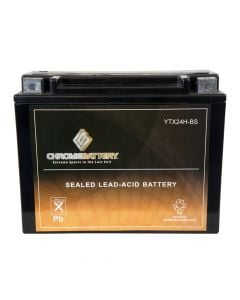 YTX24H-BS High Performance Power Sports Battery- View 1