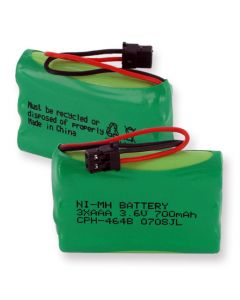 Cordless Phone Battery replaces Universal 3.6V 2.52W