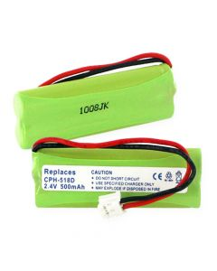 Cordless Phone Battery replaces Universal 2.4V 1.2W