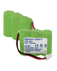 Cordless Phone Battery replaces VTECH Sony AT&T Models 3.6V 2.7W