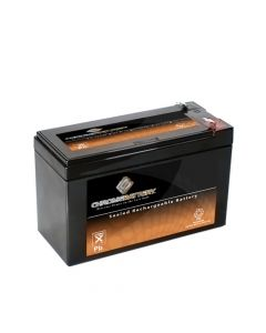 12V 7.6AH Sealed Lead Acid (SLA) Battery - T2 Terminals