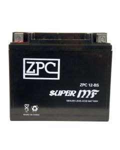 YTX12-BS High Performance AGM Power Sports Battery- View 1