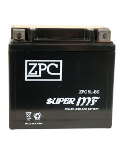 ZPC YTX5L-BS High Performance AGM Power Sports Battery- View 1