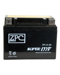 YTX4L-BS High Performance AGM Power Sports Battery- View 1
