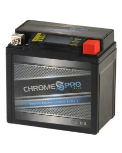 YTX5L-BS Chrome Pro Series iGel Battery- View 1