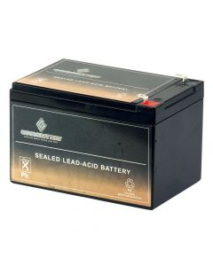 Cruzin Cooler 12V 12AH SLA Replacement Battery
