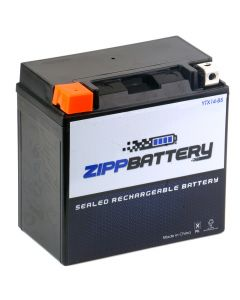 YTX14-BS High Performance Power Sports Battery