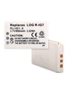 Remote Control Li-ion Replacement Battery for LOGITECH HARMONY 880 LI-ION 950mAh Models