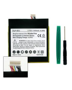Replacement Tablet Battery for Amazon Kindle Fire D01400 3.7V 4400mAh Li-Pol Battery