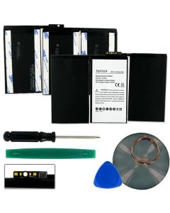 Replacement Tablet Battery for Apple iPad 2 616-0572 / 616-0561 3.3v 6500mAh Lithium Polymer
