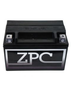 ZPC YTX7A-BS High Performance AGM Power Sports Battery- View 1
