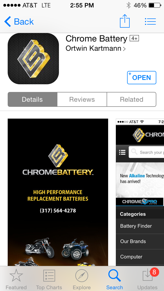 The New Chrome Battery App is Here!